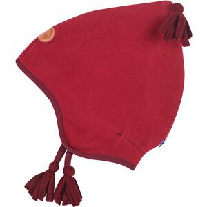 Finkid Pipo Fleece Pixie Mütze Mädchen persian red/cabernet persian red/cabernet