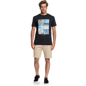 Quiksilver Photo Fun T-Shirt Herren black black