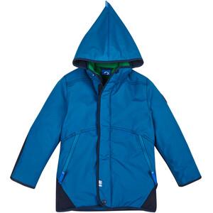 Finkid Talvinen Husky vinterparka med avtakbar hette Barn Blå Blå