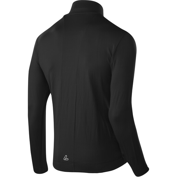 Löffler Thermo Velours Light Full-Zip Sweater Herren black/red