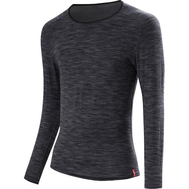Löffler Transtex Warm Langarm Shirt Herren grey