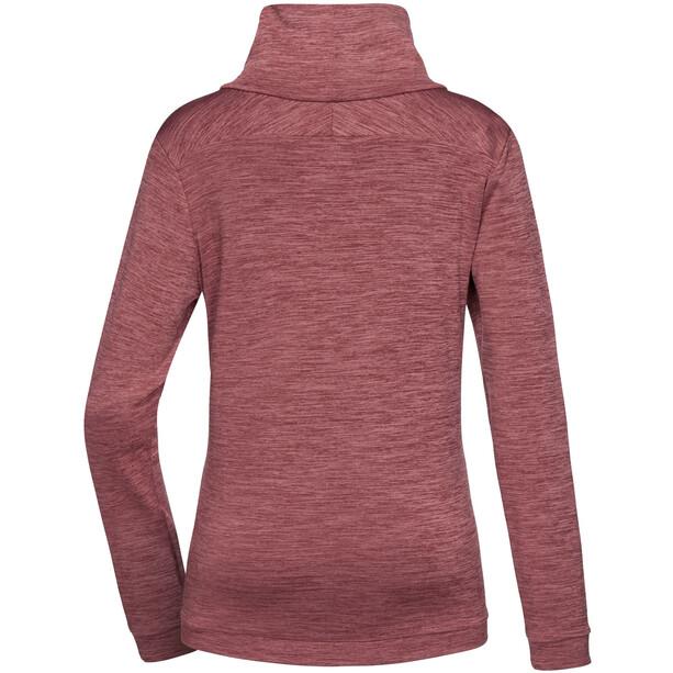 PYUA Bliss Sweater Damen mahogany red