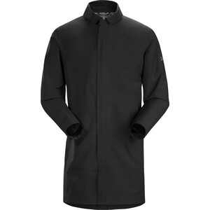 Arc'teryx Keppel Trench Coat Herr Black II Black II