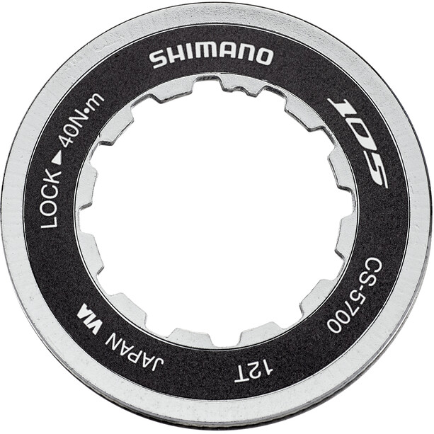 Shimano CS-5700 Cassette Lockring 12T with Spacer