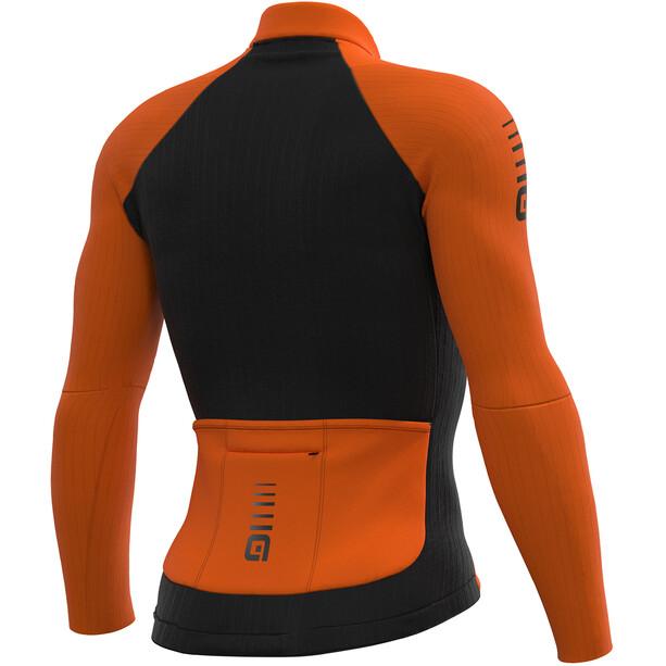 Alé Cycling Clima Protection 2.0 Warm Race Langarm Trikot Herren fluo orange
