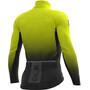 Alé Cycling PRS Dots DWR Longsleeve Jersey Herr black-yellow fluo