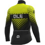 Alé Cycling PR-S Hexa DWR Langarm Trikot Herren black-fluo yellow