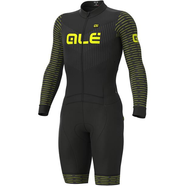 Alé Cycling PR-S Fuga DWR Ciclocross Skinsuit Herren black-fluo yellow