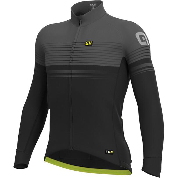 Alé Cycling Graphics PRR Slide Wind Trikot Herren black-charcoal grey