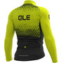 Alé Cycling Solid Summit Langarm Trikot Herren black-fluo yellow