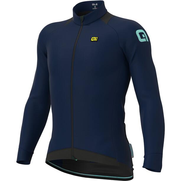 Alé Cycling Klimatik Klima Winter Langarm Trikot Herren blue