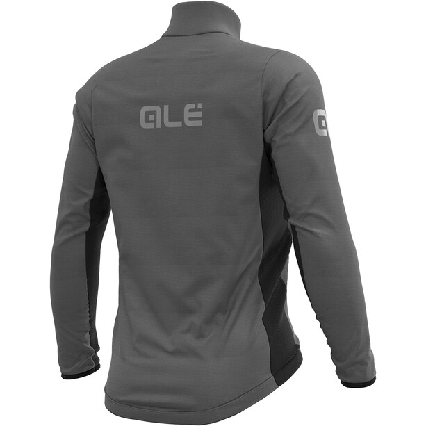Alé Cycling Guscio Black Reflective Jakke Herre Grå/Svart