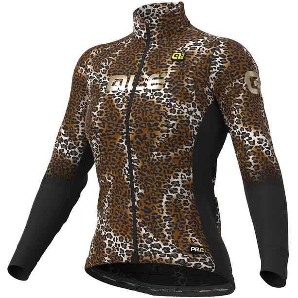 Alé Cycling Graphics PRR Maculato Micro Langarm Trikot Damen black