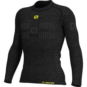 Alé Cycling Seamless Wool Shirt Damen schwarz schwarz
