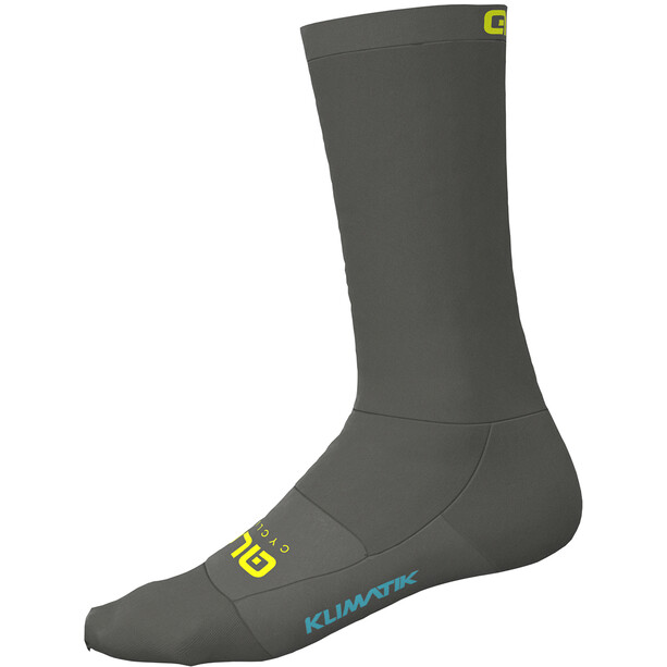Alé Cycling Klimatik Socks grey-fluo yellow