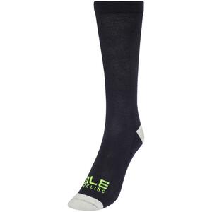 Alé Cycling Thermo Primaloft Socken schwarz/grau schwarz/grau