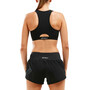 2XU Active Crop Damen black/black