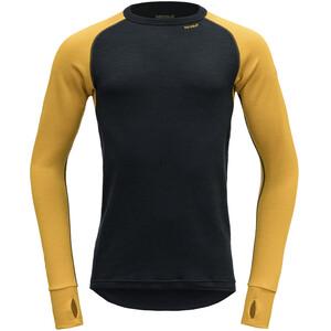 Devold Expedition Shirt Herren schwarz/gelb schwarz/gelb