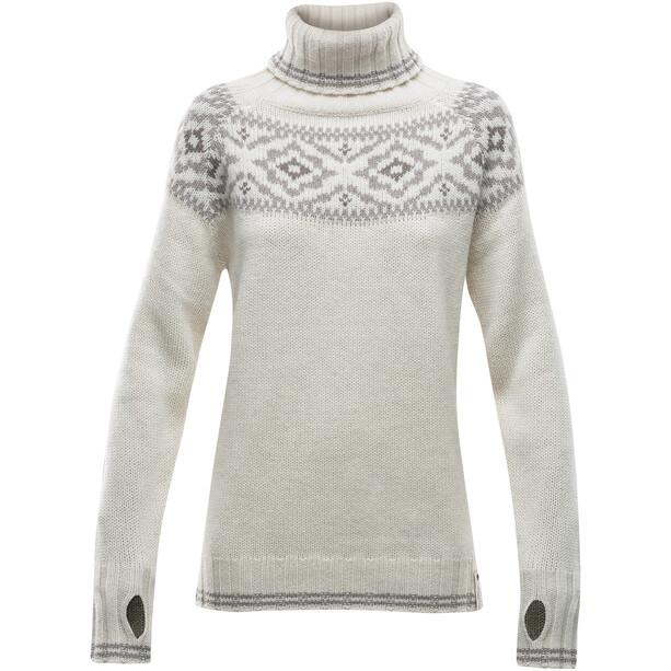 Devold Ona Round Sweater Damen schwarz/grau