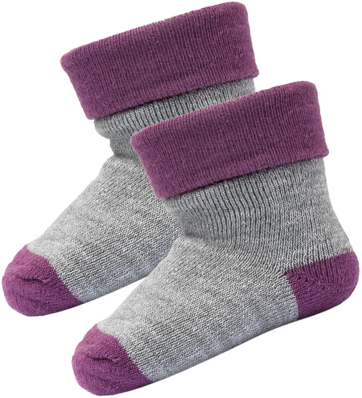 Devold Teddy Socken 2er Pack Säugling peony Wollsocken EU 22-24 SC-595-013-A-171A-22-24