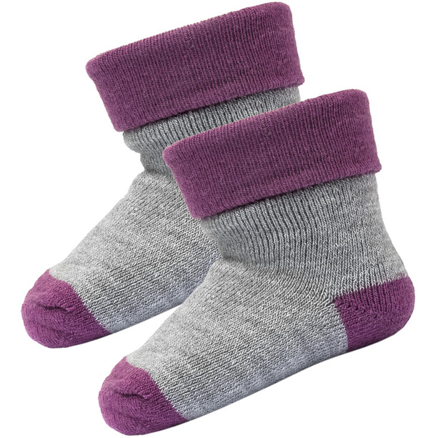 Devold Teddy Socks 2-Pack Infant peony