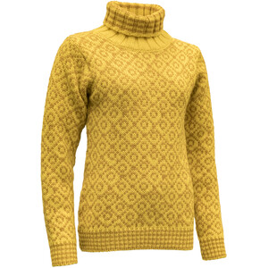Devold Svalbard High Neck Sweater Herr cyber/arrowwood cyber/arrowwood