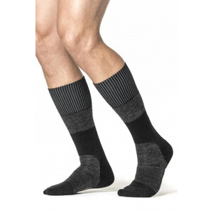 Woolpower Skilled Classic 400 Socks svart/grå svart/grå