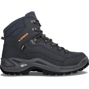 Lowa Renegade GTX Mid-Cut Schuhe Herren schwarz schwarz