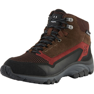 Haglöfs Skuta Proof Eco Mid-Cut Schuhe Damen maroon red/barque maroon red/barque