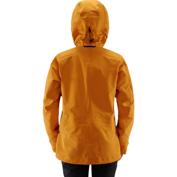 Haglöfs Khione 3L Proof Jacket Dam Desert Yellow/True Black