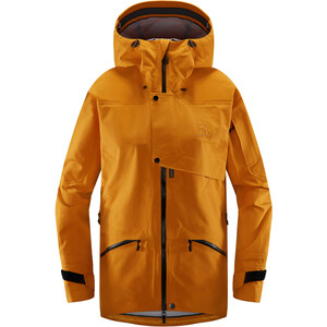Haglöfs Khione 3L Proof Jacket Dam Desert Yellow/True Black  Desert Yellow/True Black