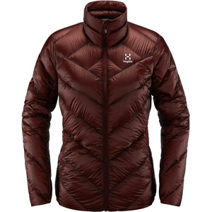 Haglöfs L.I.M Essens Jacket Dam Maroon Red Maroon Red