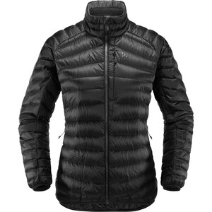 Haglöfs Essens Down Jacket Dam True Black/Magnetite True Black/Magnetite