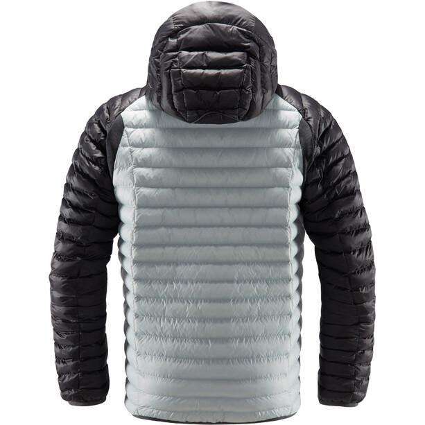 Haglöfs Essens Mimic Hooded Jacket Herr Stone Grey