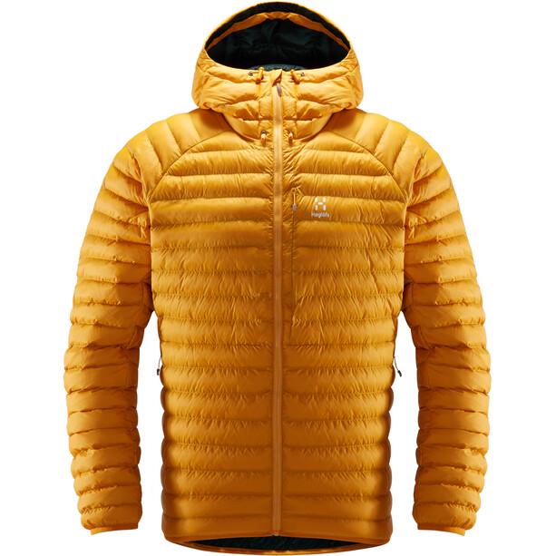 Haglöfs Essens Mimic Hooded Jacket Herr Desert Yellow/Mineral