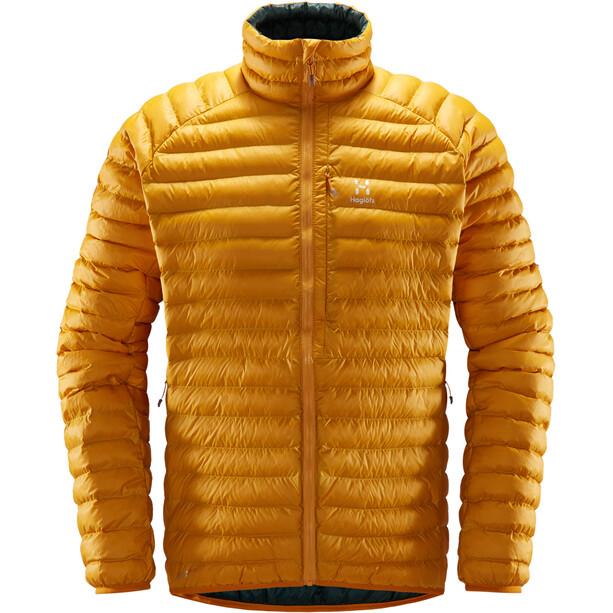 Haglöfs Essens Mimic Jacket Herr desert yellow/mineral