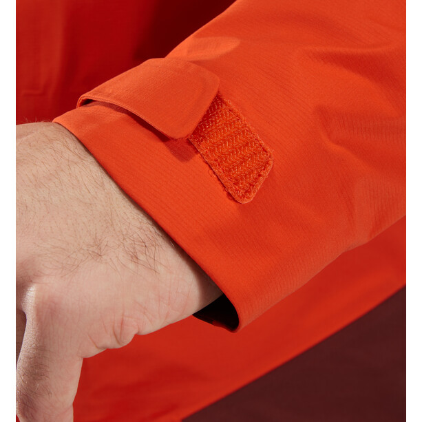 Haglöfs Roc Spire Jacket Herr Habanero/Maroon Red