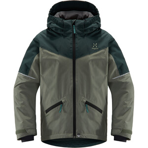 Haglöfs Niva Insulated Jacket Ungdomar Agave Green/Mineral Agave Green/Mineral