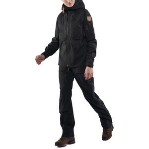 Fjällräven Keb Eco-Shell Jacke Damen black black