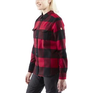 Fjällräven Canada Langarmshirt Damen red red