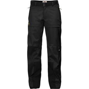 Fjällräven Keb Plus-Shell Hose Damen schwarz schwarz