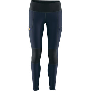 Fjällräven Abisko Trail Tights Damen navy-dark navy navy-dark navy