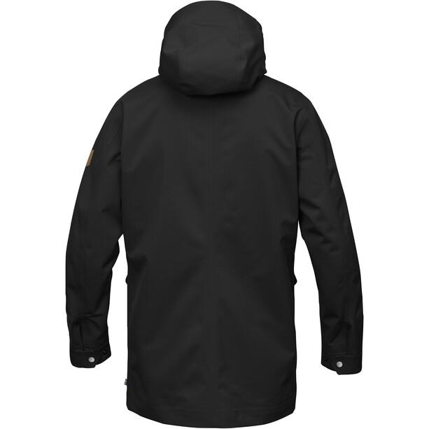 Fjällräven Greenland Eco-Shell Jacke Herren black