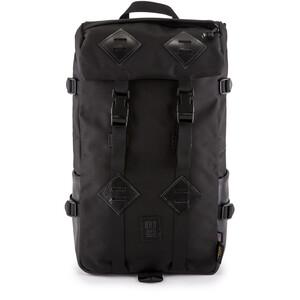 Topo Designs Klettersack Rucksack ballisticblack/black leather ballisticblack/black leather