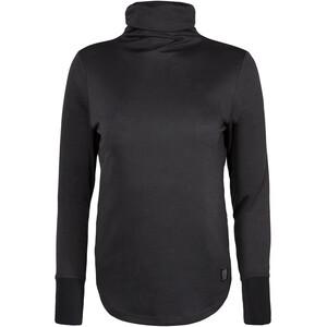 Topo Designs Tech Rollkragen Langarmshirt Damen black black