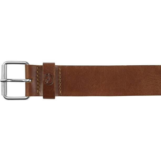 Fjällräven Singi Gürtel 4cm leather cognac
