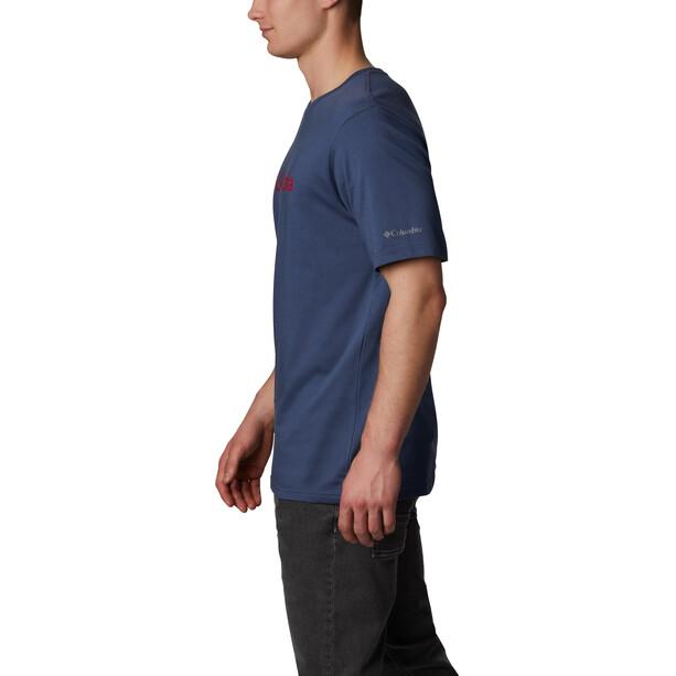 Columbia CSC Basic Logo Kurzarmshirt Herren blau
