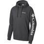 Columbia Viewmont II Sleeve Graphic Hoodie Herren charcoal heather
