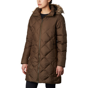 Columbia Icy Heights II Mittellange Daunenjacke Damen olive green olive green