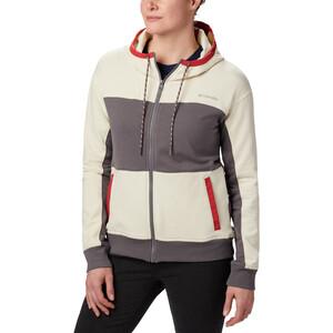 Columbia Columbia Lodge Full-Zip Jacke Damen grau/weiß grau/weiß